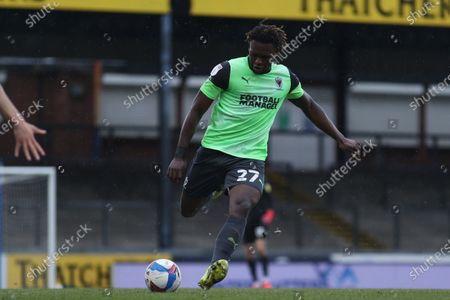Stock Photo of David Fisher of AFC Wimbledon- Mandatory by-line: Will Cooper/JMP