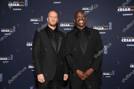 Stock Photo of John Wax and Jean-Pascal Zadi