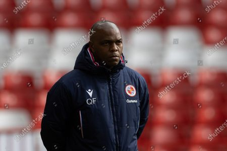 Reading Coach Quinton Fortune before the EFL Sky Bet Championship match between Nottingham Forest and Reading at the City Ground, Nottingham