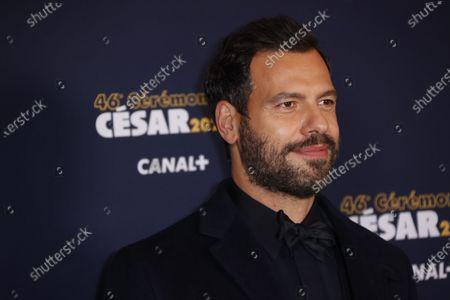 Editorial image of 46th Cesar Film Awards 2021, Red Carpet/Arrivals, Paris, France - 12 Mar 2021