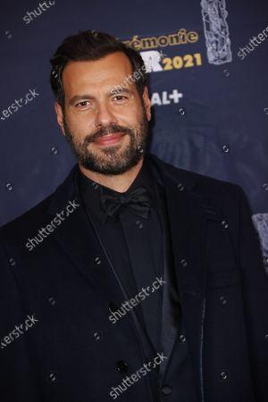 Editorial photo of 46th Cesar Film Awards 2021, Red Carpet/Arrivals, Paris, France - 12 Mar 2021