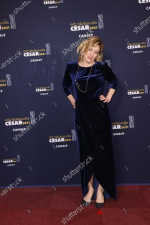 Editorial photo of 46th Cesar Film Awards 2021, Red Carpet/Arrivals, Paris, France - 12 Mar 2021