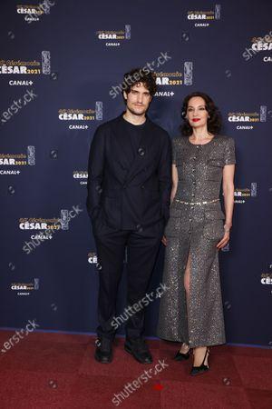 Louis Garrel and Jeanne Balibar