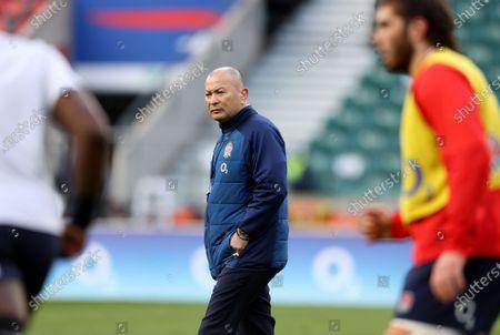 Eddie Jones the England head coach
