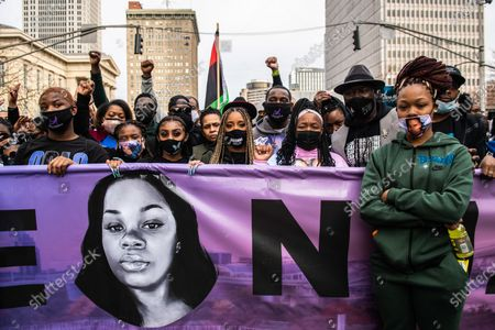 Editorial photo of 1 Year Anniversary of Death of Breonna Taylor, Louisville, Kentucky, USA - 13 Mar 2021