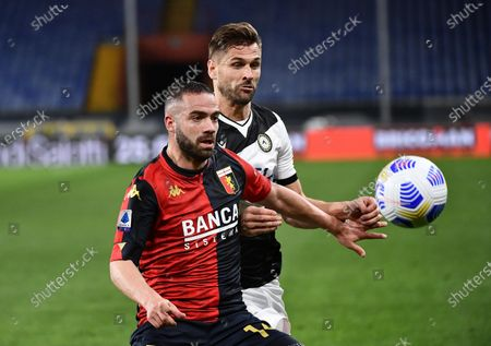 Editorial picture of Genoa vs Udinese, Italy - 13 Mar 2021