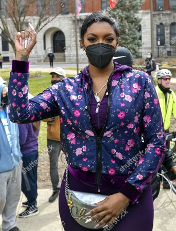 Editorial picture of City remembers 1-Year after Breonna Taylor's death, Louisville, Kentucky, USA - 13 Mar 2021