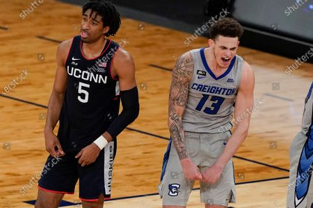 Editorial photo of BEast Creighton UConn Basketball, New York, United States - 12 Mar 2021