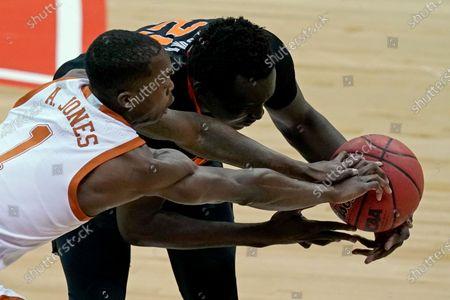 Editorial photo of B12 Oklahoma St Texas Basketball, Kansas City, United States - 13 Mar 2021
