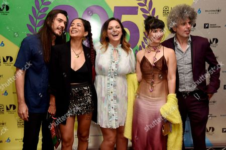 "Eddie Garcia-Rivera, Diana Larrea, Jayme Kaye Gershen, Cristina ""Cuci"" Garcia, Anthony ""Smurphio"" Laurencio"