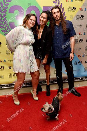 Stock Photo of Jayme Kaye Gershen, Diana Larrea and Eddie Garcia-Rivera