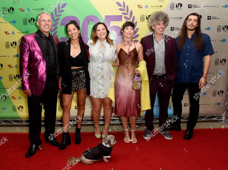 "Stock Picture of Jaie Laplante, Diana Larrea, Jayme Kaye Gershen, Cristina ""Cuci"" Garcia, Anthony ""Smurphio"" Laurencio, and Eddie Garcia-Rivera"