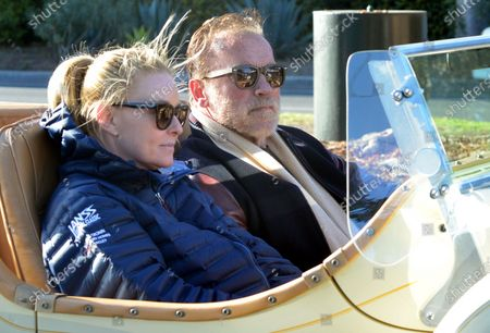 Editorial picture of Exclusive - Arnold Schwarzenegger and Heather Milligan out and about, Los Angeles, California, USA - 13 Mar 2021