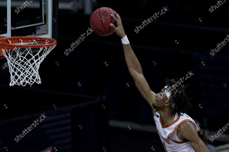 Editorial picture of B12 Oklahoma St Texas Basketball, Kansas City, United States - 13 Mar 2021