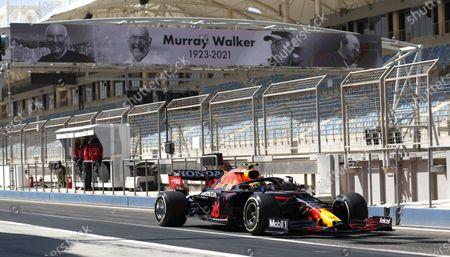Editorial photo of 2021 F1 Bahrain Pre Season Testing, Race, Bahrain International Circuit, Sakhir, Bahrain - 14 Mar 2021