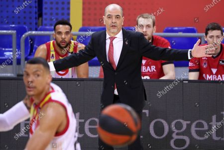 Sergio Hernandez during the match between FC Barcelona and Casademunt Zaragoza, corresponding to the week 26 of the spanish Liga Endesa , played at the Palau Blaugrana, on 13th March 2021, in Barcelona, Spain.  --