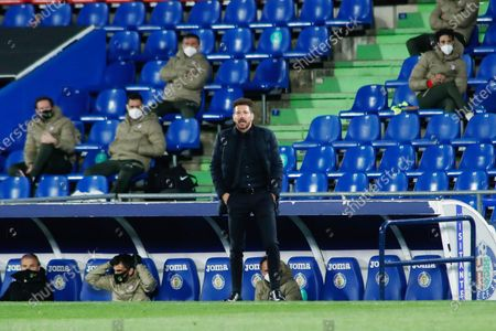 Diego Pablo Simeone, head coach of Atletico de Madrid
