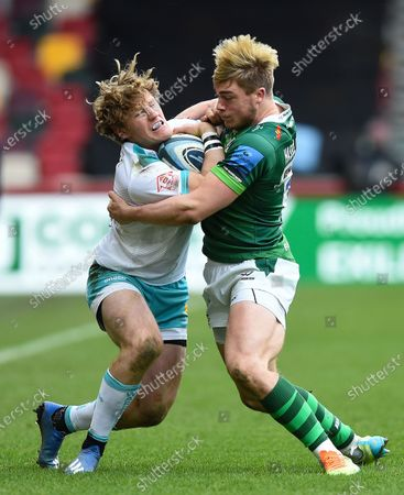 Editorial picture of London Irish v Worcester Warriors, UK - 14 Mar 2021