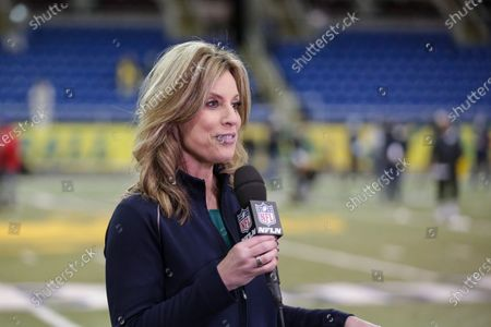 Network reporter Kim Jones reports from North Dakota State's NFL Pro Day, in Fargo, North Dakota