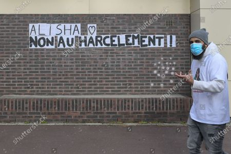 Editorial picture of White march for Alisha Marche Blanche, Argenteuil, France - 14 Mar 2021