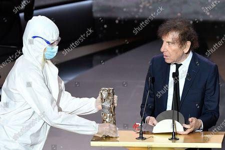 Editorial photo of Cesar Film Awards 2021, Paris, France - 12 Mar 2021