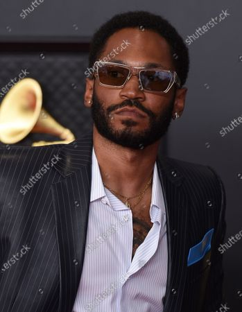 Kaytranada arrives at the 63rd annual Grammy Awards at the Los Angeles Convention Center