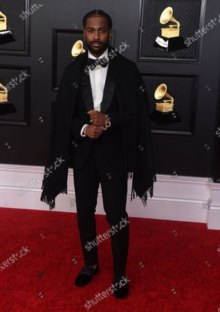 Big Sean arrives at the 63rd annual Grammy Awards at the Los Angeles Convention Center on March 14 with both live and prerecorded segments