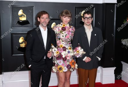 Editorial image of Musical talent pose on the red carpet at the 63rd Annual Grammy Awards show in downtown Los Angeles, Los Angeles Convention Center, Los Angeles, California, United States - 14 Mar 2021