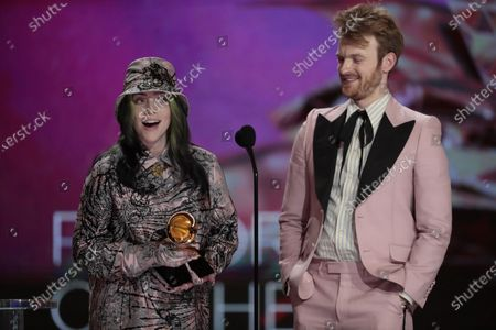 Editorial image of 63rd Grammy Awards at Staples Center, LA Convention Center, Los Angeles, California, United States - 14 Mar 2021