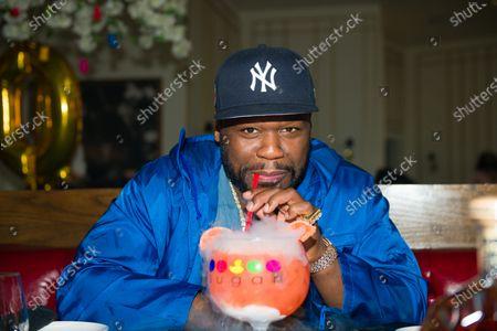 50 Cent at Sugar Factory Atlanta