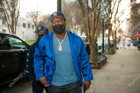 Stock Image of 50 Cent at Sugar Factory Atlanta