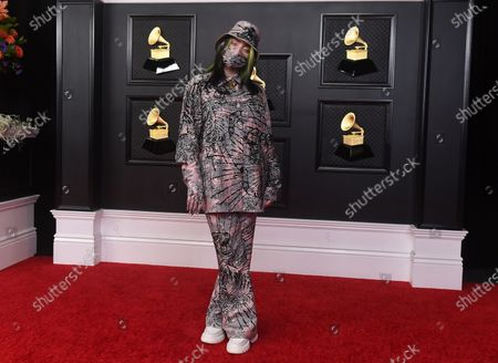 Billie Eilish arrives at the 63rd annual Grammy Awards at the Los Angeles Convention Center