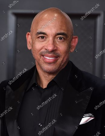 Harvey Mason Jr.. arrives at the 63rd annual Grammy Awards at the Los Angeles Convention Center