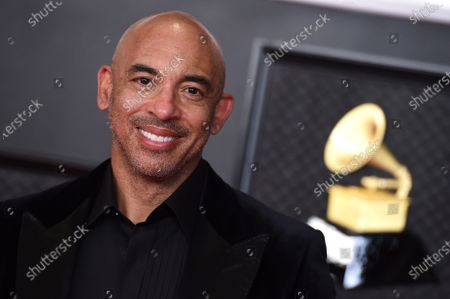 Stock Photo of Harvey Mason Jr.. arrives at the 63rd annual Grammy Awards at the Los Angeles Convention Center