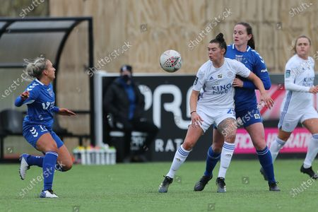 Editorial picture of Durham Women v Leicester City Women - FA Women's Championship, United Kingdom - 14 Mar 2021
