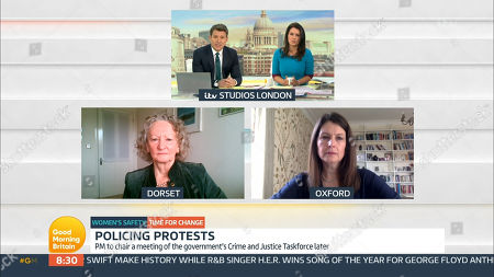 Editorial picture of 'Good Morning Britain' TV Show, London, UK - 15 Mar 2021