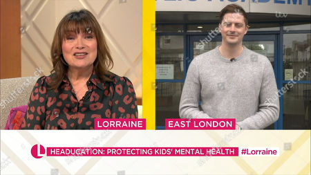 Lorraine Kelly and Dr. Alex George