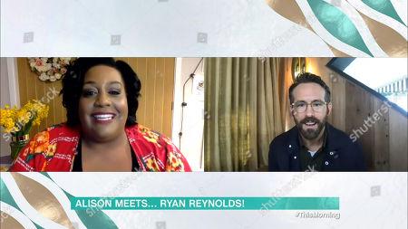 Alison Hammond, Ryan Reynolds