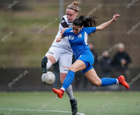 Editorial picture of FC Luzern v FC Lugano Femminile, AXA Women's Super League, Lucerne, Switzerland - 13 Mar 2021