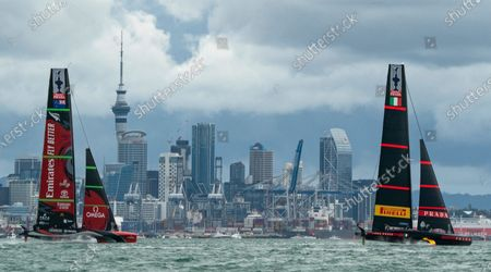 Editorial image of The 36th America's Cup, Day Six, Sailing, Auckland, New Zealand - 16 Mar 2021