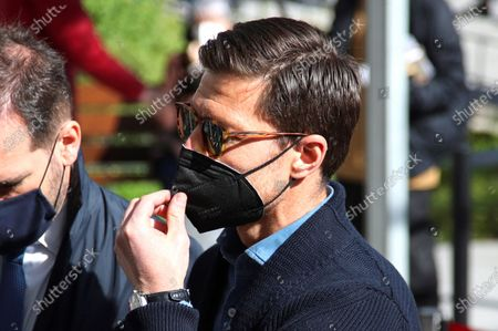 Editorial picture of Xabi Alonso to testify in his case for alleged tax evasion, Madrid, Spain - 15 Mar 2021