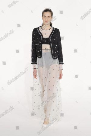 Editorial image of Womenswear, Fall Winter 2021-22, fashion week, Paris, FRA, Giambattista Valli - 03 Mar 2021