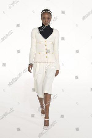 Editorial photo of Womenswear, Fall Winter 2021-22, fashion week, Paris, FRA, Giambattista Valli - 03 Mar 2021