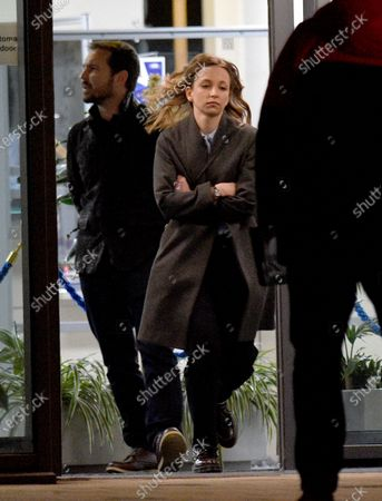 Editorial photo of 'Traces' on set filming, Bolton, UK - 08 Mar 2021