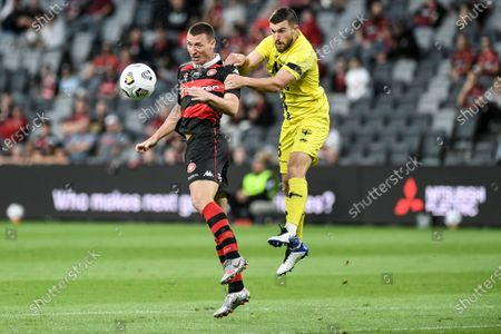 Editorial photo of Western Sydney Wanderers v Wellington Phoenix, A-League, Football, Bankwest Stadium, Parramatta, Australia - 15 Mar 2021