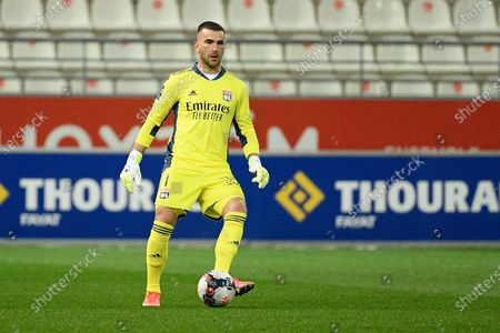 Lopes Anthony during the French championship Ligue 1 football match between Stade de Reims and Olympique Lyonnais (OL) on March 12, 2021 at Stade Auguste Delaune in Reims, France