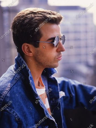 Stock Picture of Pop singer Limahl after going solo from his previous band Kajagoogoo