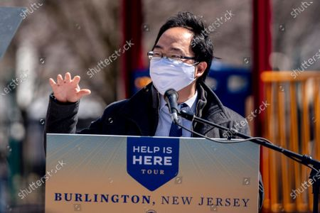 Editorial picture of Jill Biden, Burlington, United States - 15 Mar 2021