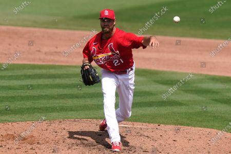 Editorial photo of Nationals Cardinals Spring Baseball, Jupiter, United States - 15 Mar 2021