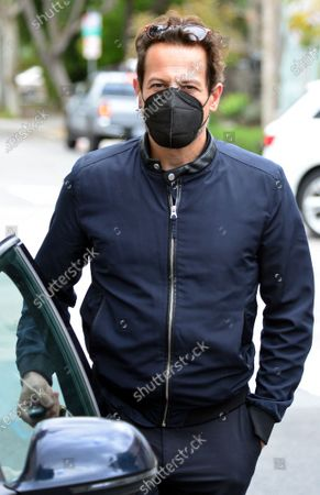 Editorial image of Exclusive - Ioan Gruffudd out and about, West Hollywood, Los Angeles, California, USA - 15 Mar 2021
